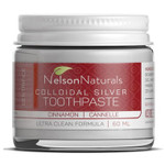 Nelson Naturals Colloidal Silver Toothpaste Cinnamon   627843432951