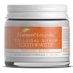 Nelson Naturals Colloidal Silver Toothpaste Thieves Blend | 627843432968