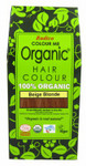 Radico Organic Hair Colour Powder Beige Blonde   8902670020710
