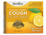 Herbion All Natural Sugar Free Cough Lozenges Honey Lemon 18 Lozenges | 4607006674707