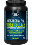 Ultimate 100% High Alpha Whey Isolate Protein - Unflavoured 750 Grams | 628826003212