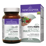 New Chapter Every Man's One Daily 40+ Multivitamin Tablets | 727783003706, 727783100054, 727783100122