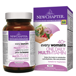 New Chapter Every Woman's One Daily 40+ Multivitamin Tablets   727783003669, 727783100047, 727783100115