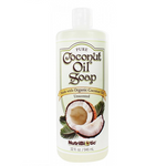 NutriBiotic Pure Coconut Oil Soap Unscented 946mL | 728177015046