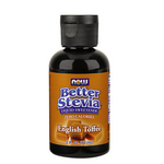 Now Better Stevia Liquid Sweetener - English Toffee | 733739869388