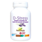 New Roots Herbal D-Stress Organic Lavender Oil | 628747120562