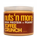 Nuts 'N More Toffee Crunch High Protein + Peanut Spread 454 grams | 613460023856