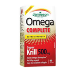 Jamieson Omega Complete Extra Strength pure Krill 500 mg - 60 softgels   064642078438
