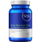 Sisu Only One Iron Free 60 Tablets | 777672010186