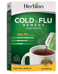 Herbion All Natural Cold and Flu Remedy 10 Sachets Original | 4607006674738