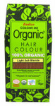 Radico Organic Hair Colour Powder Light Ash Blonde | 8902670020734