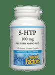 Natural Factors 5-HTP 100mg Enteric Coated 120 Caplets | 068958028460