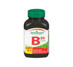 Jamieson Vitamin B50 Complex Bonus 90+30 Caplets   064642048851