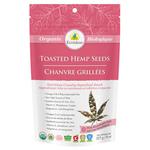 Ecoideas Organic Toasted Hemp Seeds Pink Himalayan Salt 227g | 875405002610