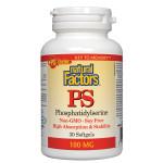 Natural Factors PS Phosphatidylserine 100mg  30 softgels | 068958026121