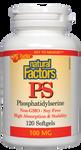 Natural Factors PS Phosphatidylserine 100mg 120 Softgels | 068958026268