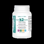 Prairie Naturals Vitamin K2 100mcg - Naturally Fermented Menaquinone 7 (MK7) 120 V-Capsules | 067953005735