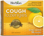 Herbion All Natural Cough Honey Lemon 18 Lozenges | 4607006674639