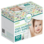 Boo Bamboo Baby Wipes 100% Bamboo 800 ct   776629102158