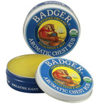 Badger Balm Aromatic Chest Rub Eucalyptus and Mint | 634084242010