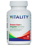 Vitality Power Iron + Organic Spirulina