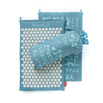 Spoonk Organic Hemp Regular Acupressure Mat Sky Blue | 627843046097