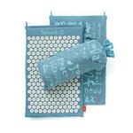 Spoonk Organic Hemp Acupressure Mat Sky Blue | 627843046097