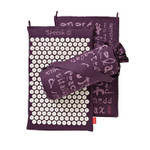 Spoonk Organic Hemp Regular Acupressure Mat Plum Purple | 842117000340
