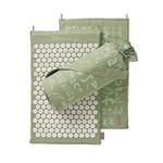 Spoonk Organic Hemp Regular Acupressure Mat  Lilac Green  |842117000326