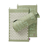 Spoonk Organic Hemp Regular Acupressure Mat  Lilac Green | 842117000326