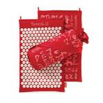 Spoonk Organic Hemp Acupressure Mat Cherry Red | 842117000401