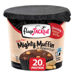 FlapJacked Mighty Muffins Mix with Probiotics Gluten-Free 55g Peanut Butter | 850171005171