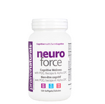 Prairie Naturals Neuro Force - Cognitive Wellness with  PQQ, Bacopa & Alpha GPC 120 Softgels | 067953006220