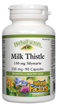 Natural Factors HerbalFactors Milk Thistle 150mg Silymarin 90 Capsules | 068958041810