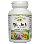 Natural Factors HerbalFactors Milk Thistle 150mg Silymarin 120 Capsules |  068958081816