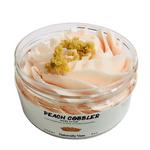 Naturally Vain Peach Cobbler Sugar Scrub  