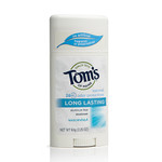 Tom's of Maine Long Lasting Unscented Deodorant | 077326831311