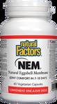 Natural Factors NEM Natural Eggshell Membrane 500mg Capsules | 068958026930