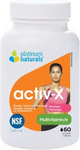 Platinum Naturals Activ-X Multivitamin for Women 60 Softgels | 773726030827