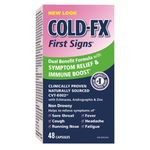 COLD-FX First Signs with Echinacea and Androgaphis Capsules | 00627207630146