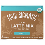 Four Sigmatic Chai Latte Mix with Reishi - Chill 10 Packets | 816897020829