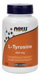Now Foods L-Tyrosine 500mg 120 Capsules | 733739801623