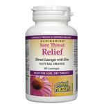 Natural Factors Echinamide Sore Throat Relief Natural Orange 60 Lozenges | 068958016856
