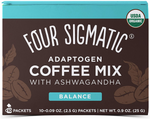 Four Sigmatic Adaptogen Coffee Mix with Ashwagandha 10 Sachets | 816897020614