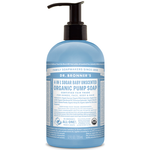 Dr. Bronner's 4-in-1 Sugar Baby Unscented Organic Pump Soap 355ml | 018787950043