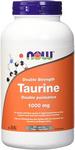 Now Foods Taurine Double Strength 1000mg 250 Veg Capsules | 733739801432