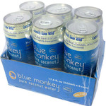 Blue Monkey 100% Natural Pure Coconut Water with Pulp