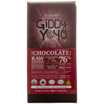 Giddy YoYo Cinnamon Spice 76% Certified Organic Dark Chocolate Bars 1 Bar | 838206000056