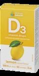 Platinum Naturals Vitamin D3 Drops 1000IU 15mL - Lemon | 773726031664