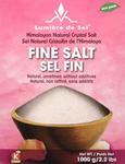 Lumiere de Sel Himalayan Natural Crystal Salt - Fine Salt 1000 grams | 875405000067